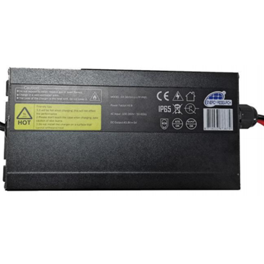 Lithium-LFP charger 36V 5A IP65
