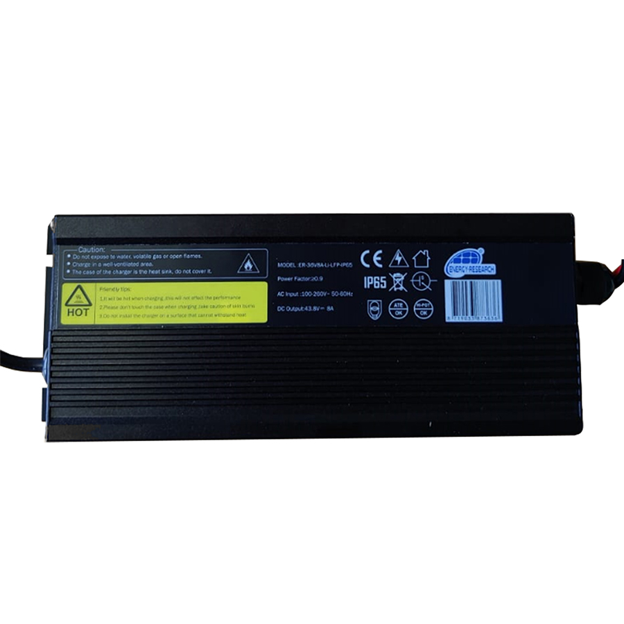 Lithium-LFP charger 36V 8A IP65