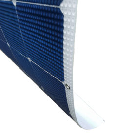 Flexible solar panel curve